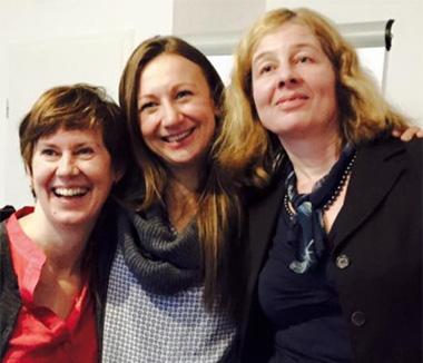 Renata Kapucian, Kasia Semmler, Martina Scharnweber